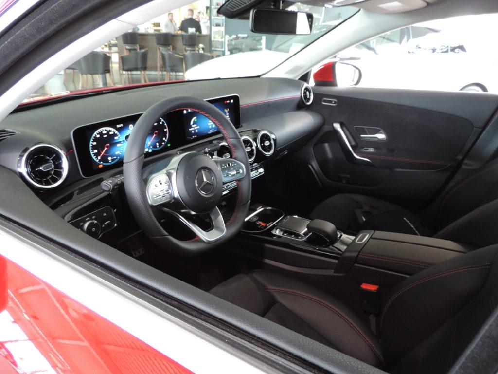 Interiér nového Mercedesu-Benz triedy A 2018