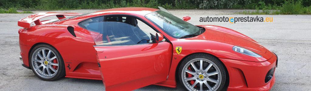 Zážitková jazda na Ferrari F430, pohľad na exteriér vozidla